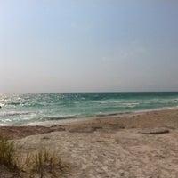 Photo taken at Bradenton Beach by Kyle R. on 5/27/2012