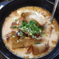 Photo taken at Ajisen Ramen by Czarina M. on 4/22/2012