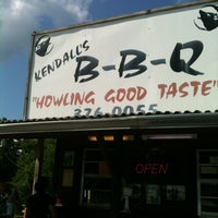 Photo taken at Kendall's BBQ by Rudy V. on 6/1/2012