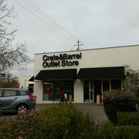 Photo taken at Crate & Barrel Outlet by Michael W. on 2/20/2012