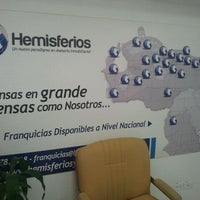 Photo taken at Hemisferios C.A. by Iván de Jesus Y. on 4/11/2012