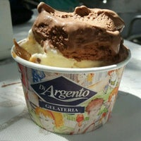 Photo taken at Gelateria Di Argento by Fê M. on 3/3/2012