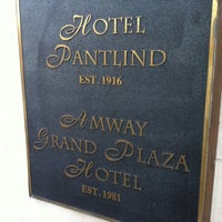 Photo taken at Amway Grand Plaza Hotel by Danielle J. on 4/5/2012