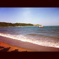 Photo taken at Praia Do Cemitério by Augusto B. on 6/17/2012