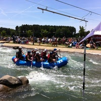 Photo taken at U.S. National Whitewater Center by Gilberto . on 6/16/2012