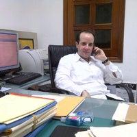 Photo taken at Oficina Dr. Peréz Zapata by José Antonio L. on 5/8/2012