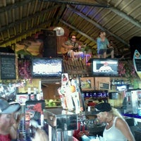 Photo taken at The Hut Bar and Grill by Melani B. on 4/29/2012