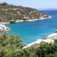 Photo taken at Hilton Bodrum Türkbükü Resort & Spa by Ozgur G. on 8/5/2012
