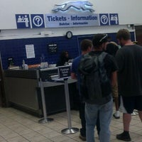 Photo taken at Greyhound Bus Lines by Devaughn H. on 5/28/2012