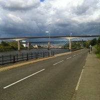 Photo taken at Redheugh Bridge by Paul T. on 5/12/2012