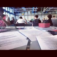 Photo taken at Bibliothèque Kandinsky by Valentine on 8/12/2012