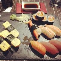 Photo taken at Edoki Sushi Bar by Olaf Philip B. on 6/23/2012