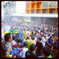 Photo taken at Songkran Festival 2012 by Rob on 4/13/2012