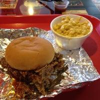 Photo taken at Honey Bear's BBQ by Daniel A. on 3/16/2012