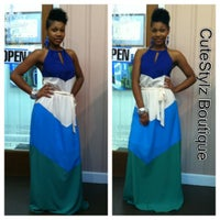 Photo taken at Crystal Nichole Boutique by Crystal M. on 4/22/2012
