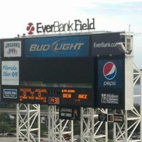 Photo taken at EverBank Field by Warren W. on 8/30/2012