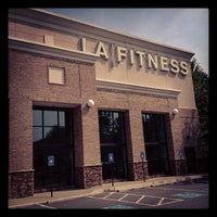 Photo taken at LA Fitness by Charlie M. on 6/24/2012