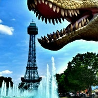 Photo taken at Kings Island by Brian D. on 6/24/2012