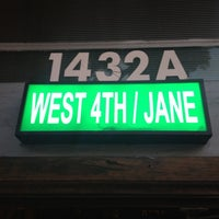 Photo taken at West 4th/Jane by Shane B. on 8/16/2012