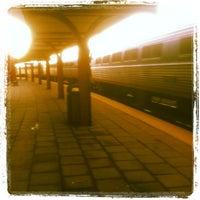 Photo taken at New London Union Station by Jerry Milo J. on 5/8/2012