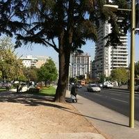 Photo taken at Plaza Antonio Pigafetta by Alvaro A. on 4/20/2012