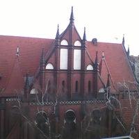 Photo taken at Samariterkirche by Steffen S. on 2/27/2012