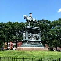 Photo taken at Logan Circle by M T. on 5/24/2012
