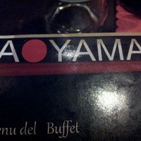 Photo taken at AOYAMA by Patricia L. on 8/31/2012