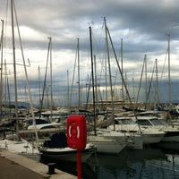 Photo taken at Voiles d'Antibes by Abdulaziz A. on 5/13/2012