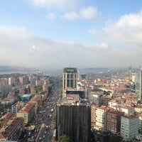 Photo taken at The Plaza Hotel Istanbul by Krzysiek O. on 8/27/2012