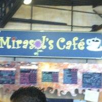 Photo taken at Mirasol's Cafe by Adriann C. on 6/15/2012
