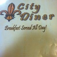 Photo taken at City Diner by Ryan C. on 2/18/2012