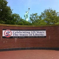 Photo taken at Liberty Island by Doha on 6/24/2012