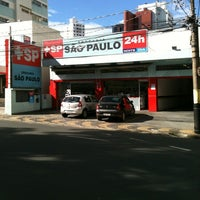 Photo taken at Drogaria São Paulo by Bruno C. on 6/24/2012