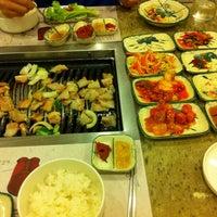 Photo taken at Mureungdowon Restaurant by Jamie L. on 6/24/2012
