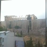 Photo taken at Cafe & Restaurant at Acropolis Museum by Kosmas S. on 5/26/2012