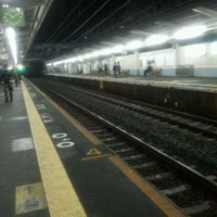 Photo taken at JR 三国ヶ丘駅 (Mikunigaoka Sta.) by Poo o. on 4/11/2012