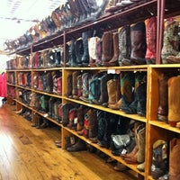 Photo taken at Allens Boots by Peter R. on 7/21/2012