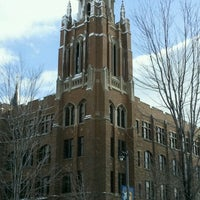 Photo taken at Marquette University by Fairfield A. on 3/5/2012