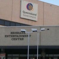 Photo taken at Brisbane Entertainment Centre by Gareth B. on 3/31/2012