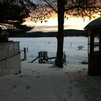 Photo taken at Little Hawk Resort & Marina by Sarah H. on 2/20/2012