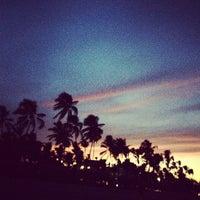 Photo taken at Los Corales Beach by Angelika_Ko on 8/17/2012