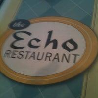 Photo taken at Echo Restaurant by Bill M. on 3/18/2012
