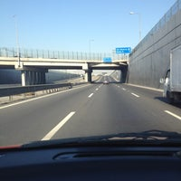 Photo taken at Autopista Vespucio Sur by Robert L. on 6/4/2012
