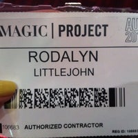 Photo taken at MAGIC SHOW 2012 (Winter) by Rodalyn A. on 8/22/2012