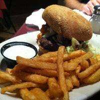 Photo taken at Jesup Bay Restaurant & Entertainment Lounge by Jennifer E. on 6/17/2012
