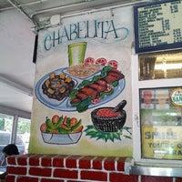 Photo taken at Chabelita Tacos by Erika S. on 6/5/2012