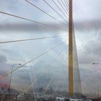 Photo taken at Rama IX Bridge by Chotiwat M. on 5/26/2012