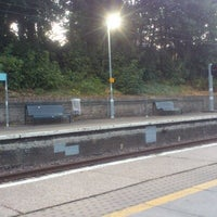 Photo taken at Rectory Road Railway Station (REC) by Martin D. on 8/10/2012