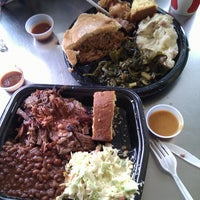 Photo taken at Blue Ribbon BBQ by Susanne B. on 6/17/2012